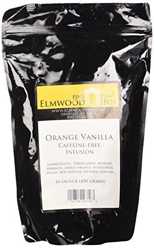 - Elmwood Inn Fine Teas, Orange Vanilla Caffeine-free Fruit Infusion, 16-Ounce Pouch