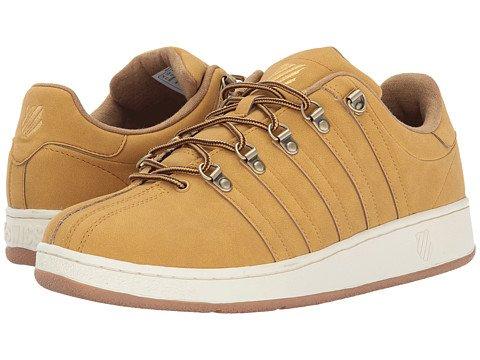 (ケースイス) K-Swiss メンズテニスシューズスニーカー靴 Classic VN SE [並行輸入品] B0753X6THG 31.0 cm D - M Amber Gold/Antique White
