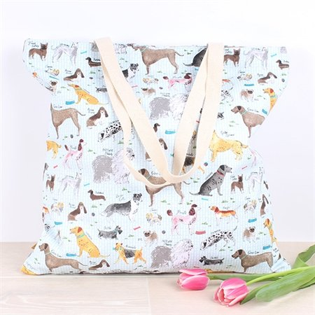 Milly Animal (Milly Green Debonair Dogs Design Extra Large Shopper)