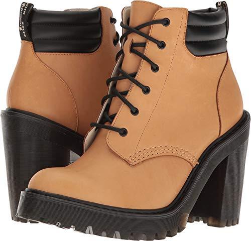 Dr. Martens Women's Persephone Ankle Bootie Tan 7 UK/9 M US -