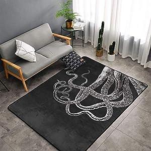 51LAUfEoLkL._SS300_ Best Octopus Area Rugs