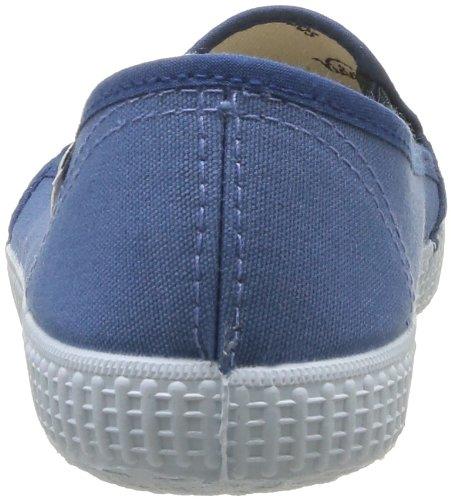 de Azul Victoria de On Azul Deporte Unisex Bleu Slip tela Zapatillas qBrBwX8