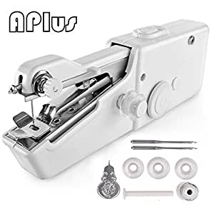 Handy Stitch, Mini Hand Sewing Machine Portable Handheld Stitch Cordless Batteryed for Home Travel (Upgraded)