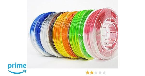 Amazon com: GO-3D PRINT Temperature Color Changing PLA 3D