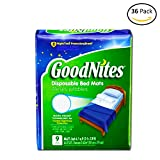 Health & Personal Care : GoodNites Disposable Bed Mats - 9 CT (4)