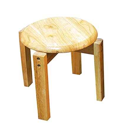 Amazon Com Wooden Mini Stool Display Stand Casual Home