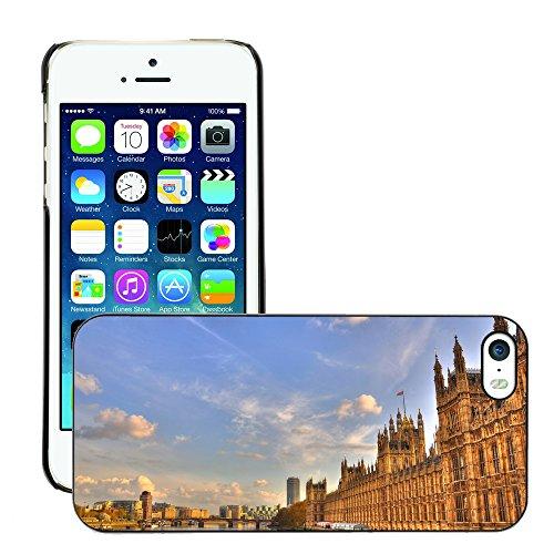 Premio Sottile Slim Cassa Custodia Case Cover Shell // V00001797 Londres // Apple iPhone 5 5S 5G