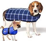 Lightweight Weather Repellent Dog Coat Reversible with Reflective Stripe by cuteNfuzzy (X-Large) Review