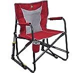 GCI Outdoor' Freestyle Rocker Mesh Chair|Red