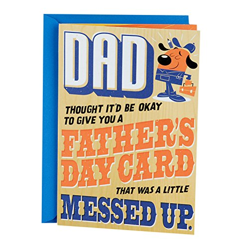Hallmark Funny Father's Day Greeting Card (Handy Man Fix It)