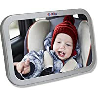 EPAuto Baby Car Back Seat Mirror for Baby and Mom Rear Facing View, Wide Conv...