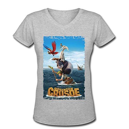 dragon-robinson-crusoe-2016-v-neck-t-shirts-for-women-gray-xx-large