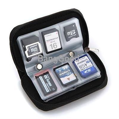 Generic QY-UK4-16FEB-20-3143 * 1**5093** Memoria SD MMC CF Micro SDHC MM 22 SD S 22 SD SDHC SD esefor funda et caso tarjeta titular bolsa de almacenamiento para mayores