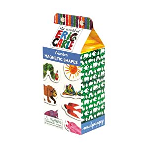 The World of Eric Carle Shapes Wooden Magnetic Set