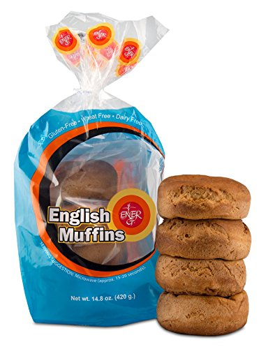 Gluten English Free Muffins - Ener-G Foods English Muffins, 14.8-Ounce Units (Pack of 6)