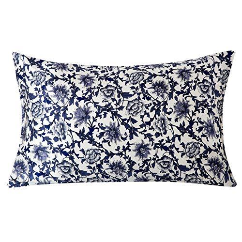 SLPBABY Silk Pillowcase for Hair and Skin with Hidden Zipper Print (Queen, Pattern13)