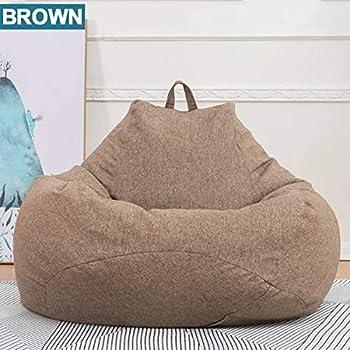 Amazon.com: Funda de sofá pequeña Lazy Puff para sillas, sin ...