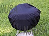 Round Charcoal Kettle BBQ Grill Part 22″ – 26″ Dia. EZ Use Cover w drawstring :New by WW shop Review