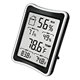 kitchen appliance packages black friday 2017 BENGOO Indoor Humidity Monitor Thermometer Monitor Digital Hygrometer Thermometer Monitor with Stand and Large LCD Display Works in Celsius and Fahrenheit for Home Living Room Office
