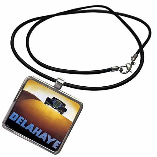 3drose-bln-vintage-automobiles-and-racing-vintage-delahaye-motor-car-advertising-poster-necklace-wit
