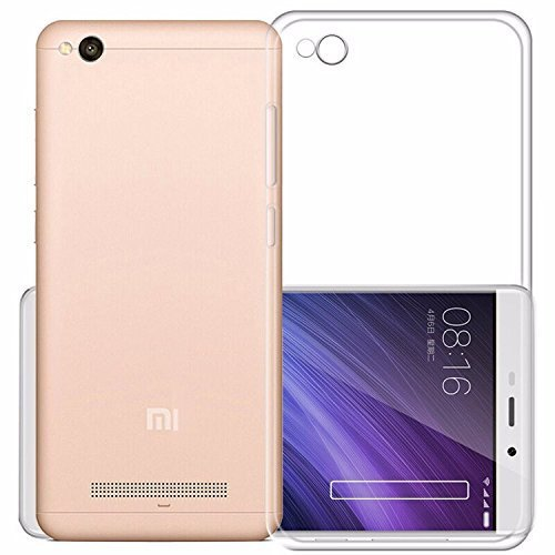 watch faace 2256c Chevron Xiaomi Redmi 4A Back Cover Case [Transparent]
