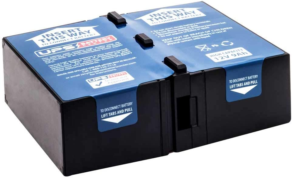 New Battery Pack for APC Smart-UPS 1000VA USB /& Serial SUA1000 SUA1000 Compatible Replacement by UPSBatteryCenter