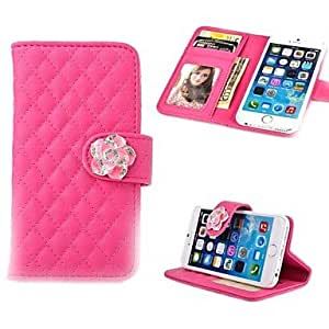 ZL Protective Lambskin PU Leather Full Body Case with Card Slot for iPhone 6 (Assorted Color) , White