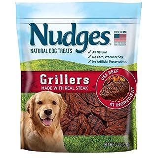Nudges Steak Grillers Dog Treats, 16 oz