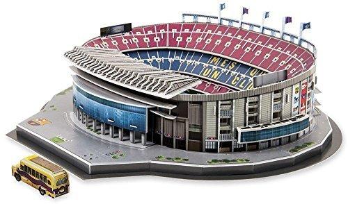 Nanostad FC Barcelona Camp Nou Stadium 3D Puzzle by Model   Puzzle 3d - The Camp Nou Stadium