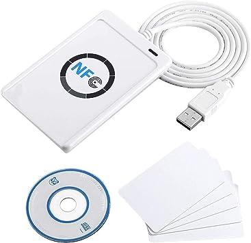 Amazon.com: Yosoo NFC ACR122U Inteligentes sin Contacto ...