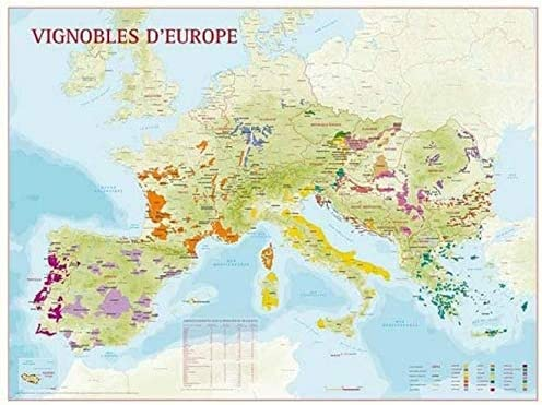 European Wine Map
