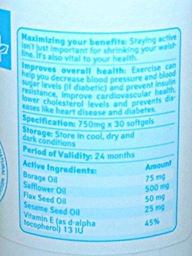 Alfia 100% Natural Weight Loss Gold Soft Gel 30 softgels (1)