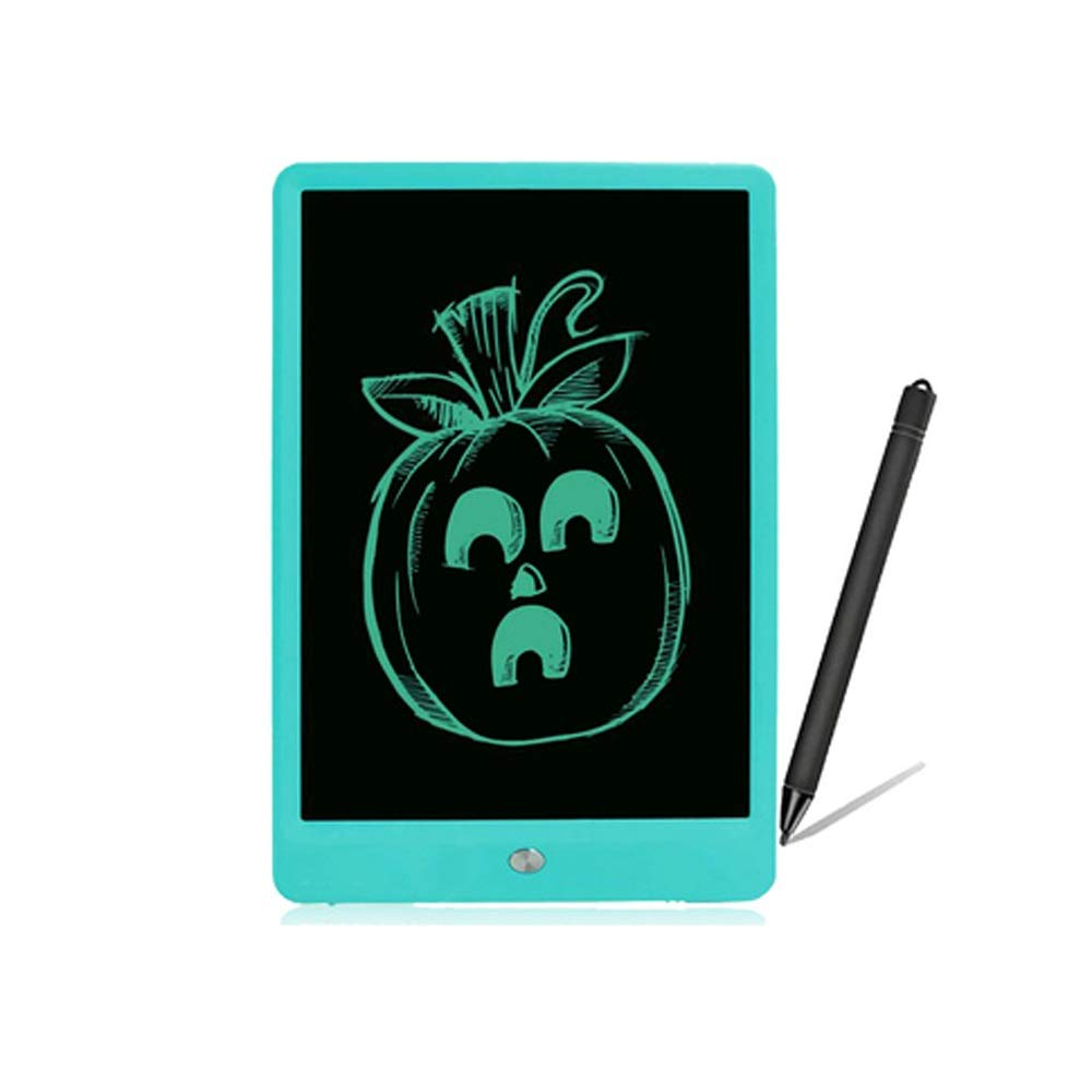 Hzna 10 Inch High Definition Light Energy Small Blackboard Electronic Liquid Crystal Writing Board Writing Board, Graffiti Drawing Board, Children's Gifts Or Adult Gifts (Color : Green)