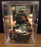 Philadelphia Eagles NFL Helmet Shadowbox w/ Michael Vick card