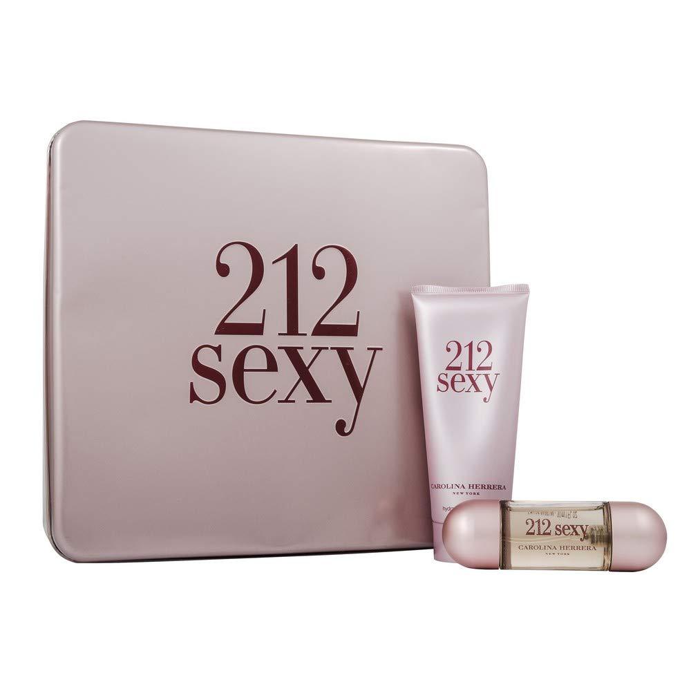 Carolina Herrera 212 Sexy Eau de Parfum and Body Lotion For Her, 30 ml/100 ml Puig CAR212F92587355