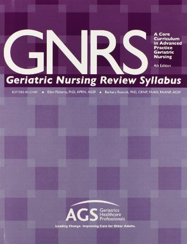 Gnrs Geriatric Nursing Review Syllabus: A Core Curriculum in Advanced Practice Geriatric Nursing by Rittenhouse Book Distributors