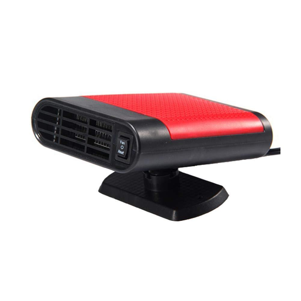 Ventilateur de Chauffage Voiture 12V Chauffage d'Habitacle de Voiture Portatif Dé givreurs de Pare-Brise Refroidisseur Auto, 150W Appareil de Chauffage de Voiture de Ré chauffeur, Protection Defroster Leo565Tom