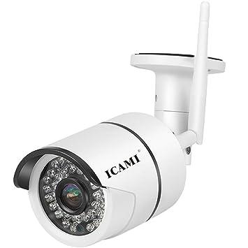 amazon com icami 720p hd 36ir ip camera wireless outdoor night rh amazon com