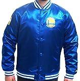 New Era Golden State Warriors NBA Tip Off Sateen Bomber College Jacket Jacke