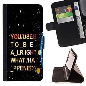 Momo Phone Case / Flip Funda de Cuero Case Cover - Psychedelic Guión;;;;;;;; - Sony Xperia Z2 D6502