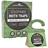 Greener Mindset Clothes Moth Traps 7-Pack with