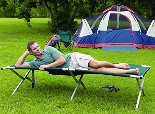 Texsport King Kot Giant Easy Set-Up Folding Sleeping Camp Cot