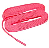GREATLACES 72 Inch Hot Pink Team Laces (Tm) Bulk 48 Pair Pack Athletic Shoelaces Pink Your Team for Breast Cancer Awareness!