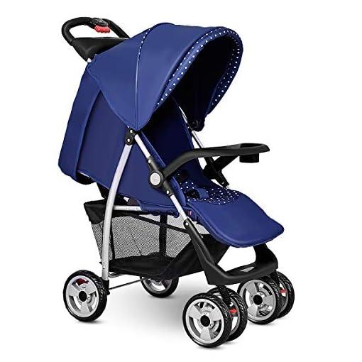 Costzon-Baby-Stroller-Folding-Pushchair-wCanopy