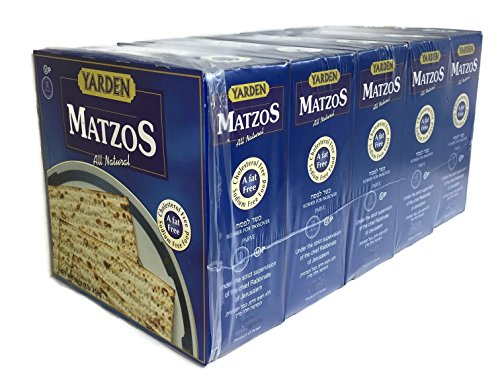 Yarden Passover Matzo 5-1LB Boxes