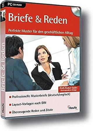 Briefe Und Reden Version 10 Cd Rom Für Windows Amazonde Software