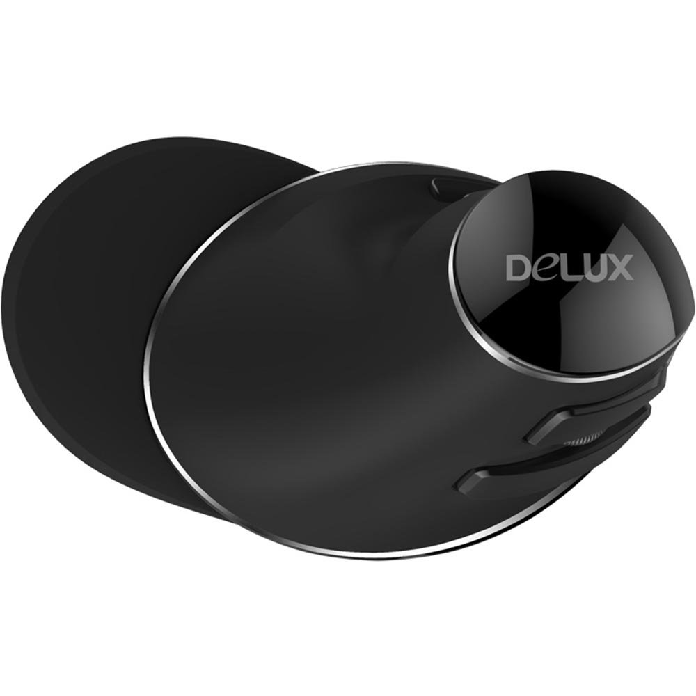 CHUYI Delux 2.4GHz Wireless Vertical Ergonomic Mouse 800/1000 / 1600 DPI Optical Mouse 6 Buttons Office Gaming Cordless Mice a Detachable Palm Rest PC Computer Laptop Right Hand by Delux (Image #8)