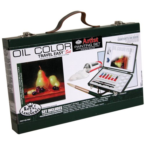 Royal & Langnickel Oil Color Painting Travel Easy Art Set