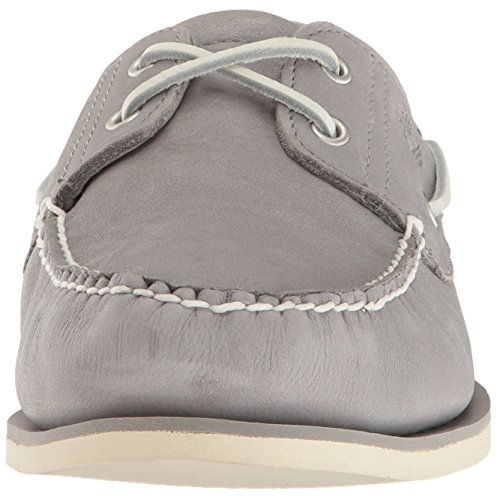 Timberland Classic Boat 2 Eye - Zapatos del Barco Hombre Gris