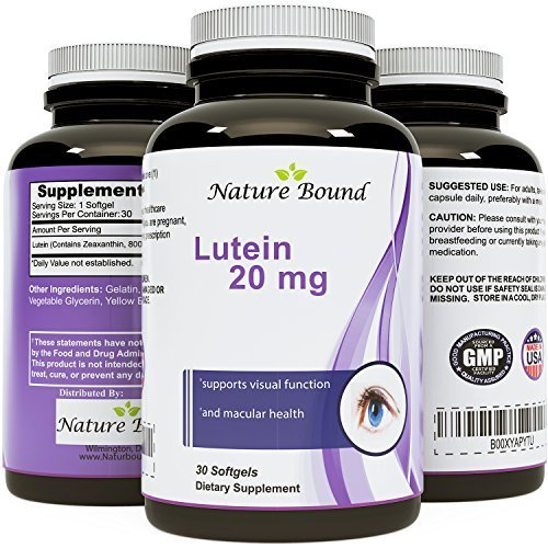 Pure Lutein Plus Zeaxanthin Supplement product image